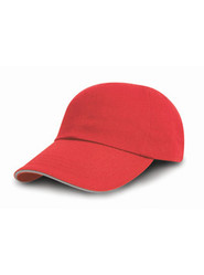 Casquette publicitaire Red/Putty